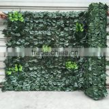 Cheap Plastic Ivy Fence Artificial Leaf Fence For Decoration