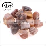 Wholesale Natural semi precious Stone Highly Polished 20-25mm Moonstone Tumbled Stone                                                                                                         Supplier's Choice