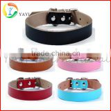 Wholesale genuine leather dog collar
