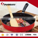 Charms Stainless Steel Non-Stick double side grill pan for electric stove