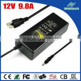 Zhenhuan 12V 9.8A AC adapter power supply for xbox 360 e console