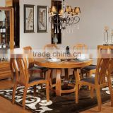 2015 Solid Wood Antique Dining Room Furniture 0063,italian style dining room furniture GZH-SM05