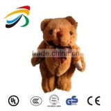 New 2015 cheap cartoon bear lovely kawaii children soft plush toy stuffed toys