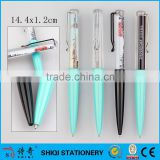Customized Logo Gift Liquid Floating Pen, PVC Liquid Pen                                                                         Quality Choice