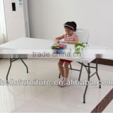 6--Fold Light Folding Table for Parties,Events,Banquets/Leisure Plastic Folding Table