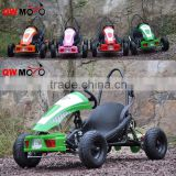 QWMOTO cheap 49cc 50cc gas powered Go Karts with 2 stroke engine children go kart