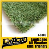 Mixed Color Landscaping Artificial Grass For Garden                                                                         Quality Choice