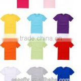 Factory Direct Sales T shirts for Sublimation Printing Blank Tshirt No Label