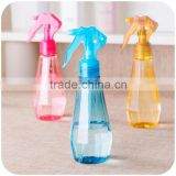 180ml Empty Diamond Shaped Plastic Water Pump Bottle perfume bottle Refillable Makeup water bottling cosmetic