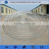 Anping China pvc coated / galvanized barded wire razor barbed wire factory with best price and quality
