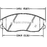 Brake pad factory provide D1013 for kia Hyundai fronts with best brake pad material