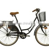 hiten Frame Material and City bike Type bicycle for lady                                                                         Quality Choice