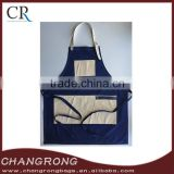 pretty denim work apron leather tool apron