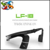 LF-18 Wireless Headset Bluetooth Sports Bone Conduction eadphone with Mic Call NFC Function