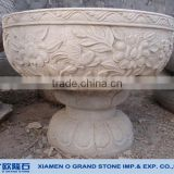 custom size your drawing welcomed decorative granite stone flower pot                                                                         Quality Choice