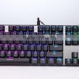 LED light wired usb gaming RGB Mechanical Keyboard with backlit