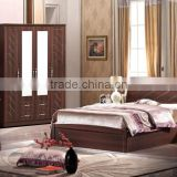2016 new designed bedroom furniture bedroom suite hot for sale -T012