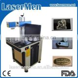 metal steel iron aluminum fiber laser marking machine / laser marking machine for metal LM-20