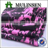 Shaoxing Mulinsen fabric manufacturer cheap satin with twist textile fabric design latest