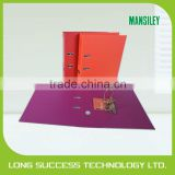 hot product office/school use bright color lever arch file with creative beautiful design