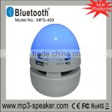 MPS-409 EGG Shape led melody bluetooth speaker