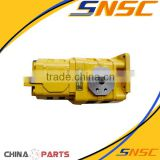 Wholesale construction machinery parts hydraulic test pump of SDLG Tandem Gear pump with valve 1,4120000171