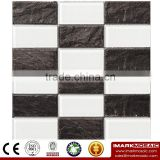 IMARK Electroplated Color Glass Mix Ceramic Mosaic Tiles (IXGC8-080) for back splash mosaic wall art