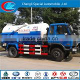 Factory direct selling sewage suction truck DONGFENG 8CBM new vaccum suction sewage tank price