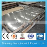 2016 Hot Sale 304 cold rolled stainless steel plate for kitchen wall panels