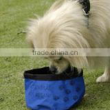 Hot selling pet bowl/portable pet bowl/foldable pet bowl