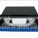 "Approved of CE & ROHS of 19"" fiber patch panel with tray used in security system"
