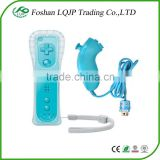 For Nintendo Wii Remote Controller with Motion Plus Blue