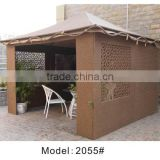 Rattan/wicker sun shelter house camping tent garden storage house garden canopy and canopy