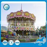 Hot sale product mechanical Double decker carousel horse ride for sale