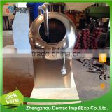 Small chocolate candy coating machine nuts chocolate coating pan