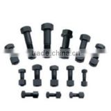 bolt and nut of excavator spare parts bucket teeth