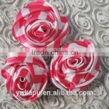 New arrival High Quality factory direct sale cheap china wholesale flower made with satin ribbon