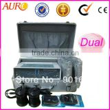 Au-06 Duel detox foot spa body cleanse ionic detox foot cleanse foot spa machine