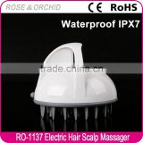 Custom logo handheld acupressure vibrator massage machine for bath