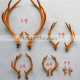 plastic deer horn antler crafts for home decor