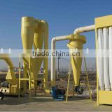 cyclone dust collector and bag-tape bag-tape dust collector for feed powder and wood powder