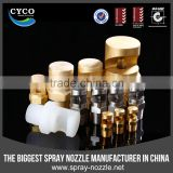 CYCO Flat Fan Nozzle, Metal and PP CC Series Flat Fan Nozzle, Net Blanket Low Pressure Cleaning Nozzle