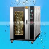 Factory Directly 5 8 10 trays commercial electric hot air steam convection oven with low price(ZQB-8D)