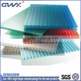 Good Flammability Performance Sun Shade Roof Polycarbonate Sheet For Car Parking Shade