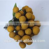 plastic fruit decoration artificial longan Chinese characteristic fruit