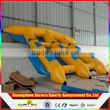 High Quality Inflatable Flying Fish Banana Boat Inflatable Flying Fish Tube Towable For Water Sport Games