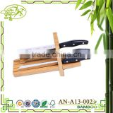 Aonong Bamboo Knife Stand/Multifuctional Combination Tool Rest
