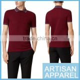 Newest Short Sleeve Men's Slim Fit Polo Shirt 100% Cotton Solid Color Business Polo Shirt For Man Also Accept Your Logo