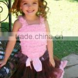 Cheap Lilac Pettiskirt fluffy pink and brown chiffon skirt set tutus pettiskirt dress pettiskirt sets PE523