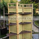 Folding screen room divider folding screen door Outdoor bamboo screen curtains from china GVHH09